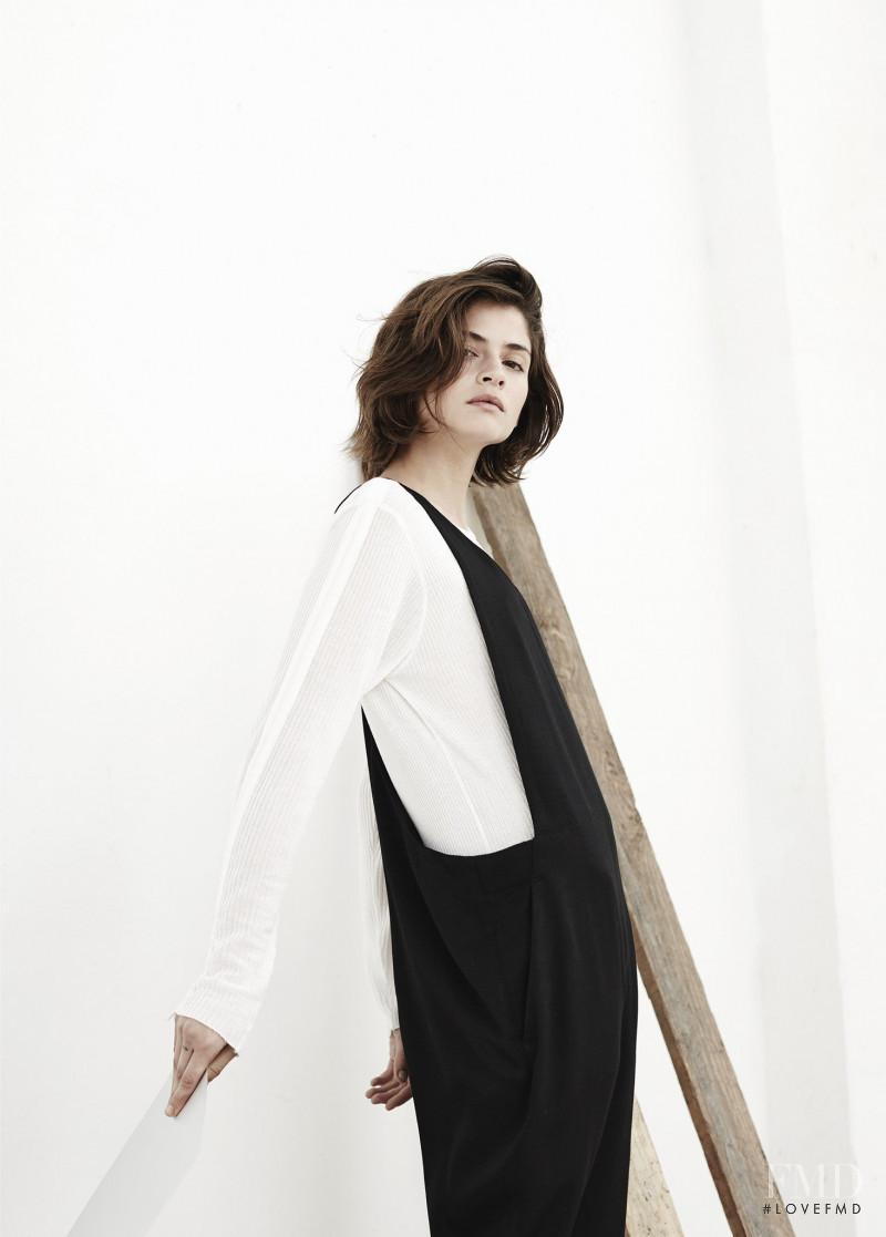 Alba Galocha featured in  the Mango lookbook for Spring/Summer 2015