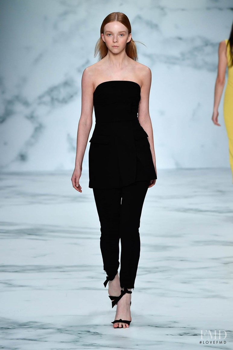 Lily Nova featured in  the Rebecca Vallance fashion show for Resort 2017