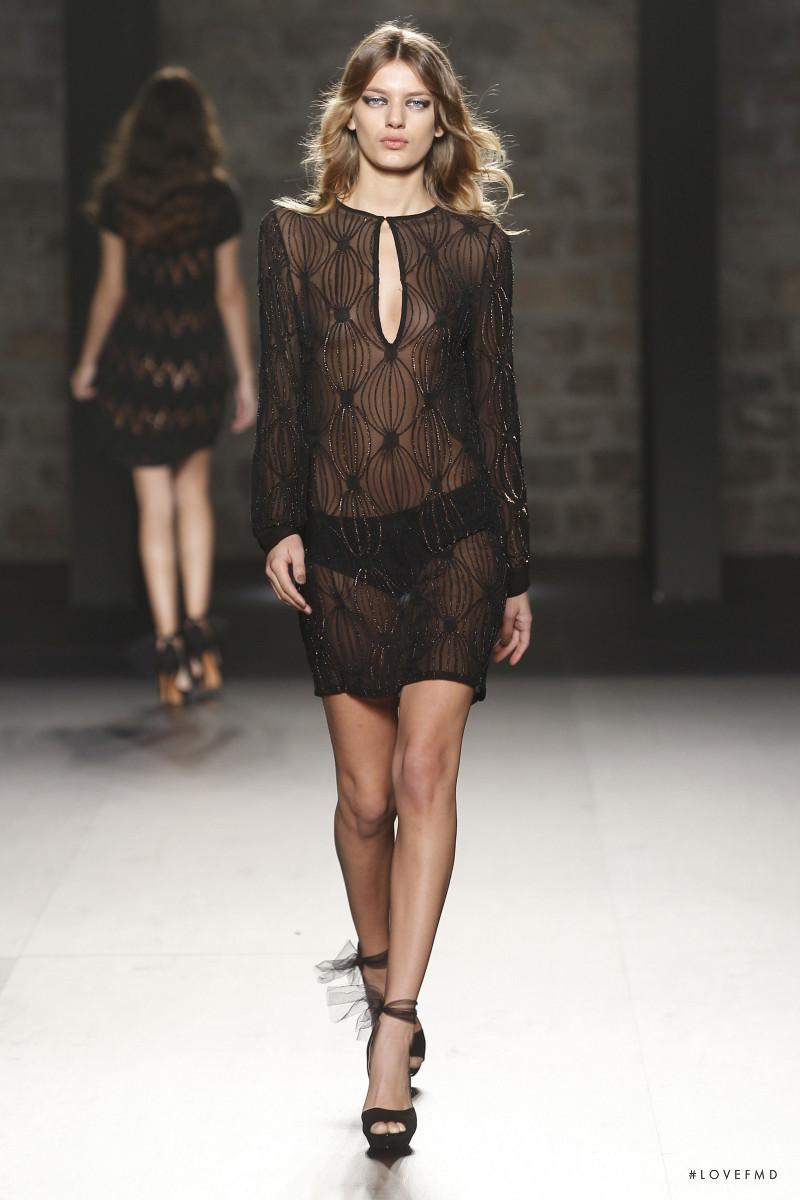 Bregje Heinen featured in  the Justicia Ruano fashion show for Autumn/Winter 2012