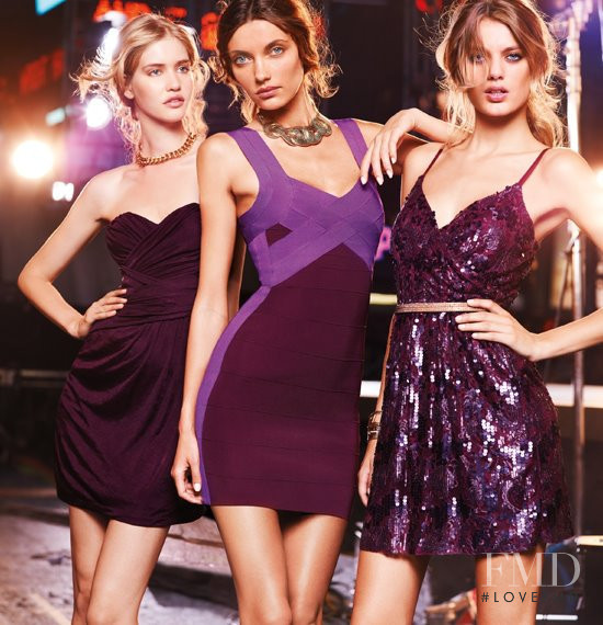 Bregje Heinen featured in  the Express advertisement for Spring/Summer 2012