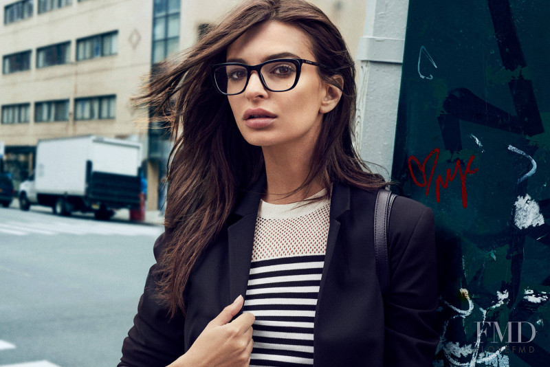 Emily Ratajkowski featured in  the DKNY advertisement for Autumn/Winter 2017