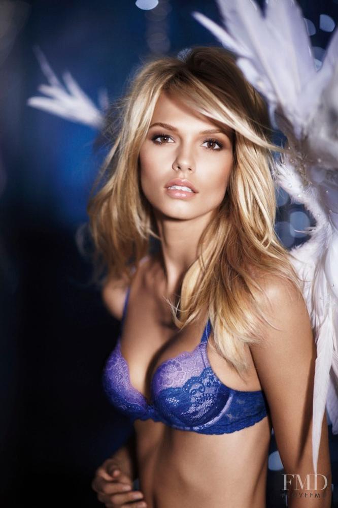 Katsia Domankova featured in  the Victoria\'s Secret catalogue for Autumn/Winter 2010