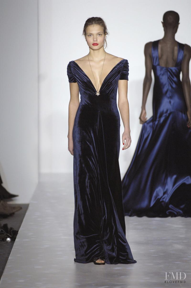 Katsia Domankova featured in  the Marc Bouwer fashion show for Autumn/Winter 2007
