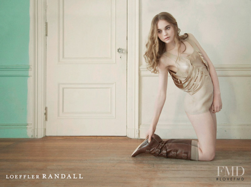 Loeffler Randall advertisement for Autumn/Winter 2012