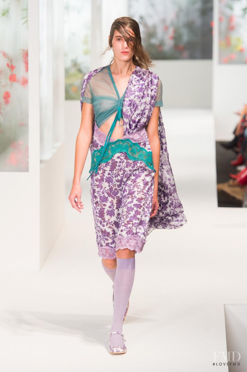 Preen by Thornton Bregazzi fashion show for Spring/Summer 2018
