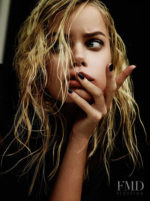 Frida Aasen featured in  the Mikhael Kale advertisement for Spring/Summer 2014