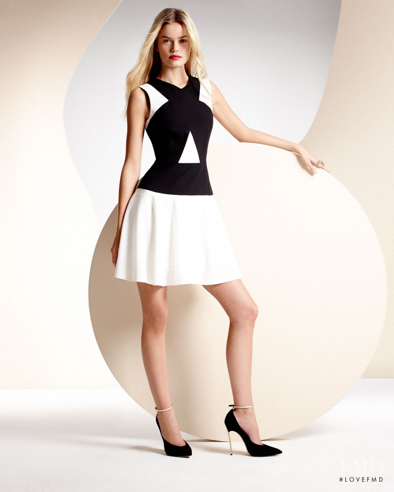 Frida Aasen featured in  the Neiman Marcus BCBG Max Azria lookbook for Spring/Summer 2014