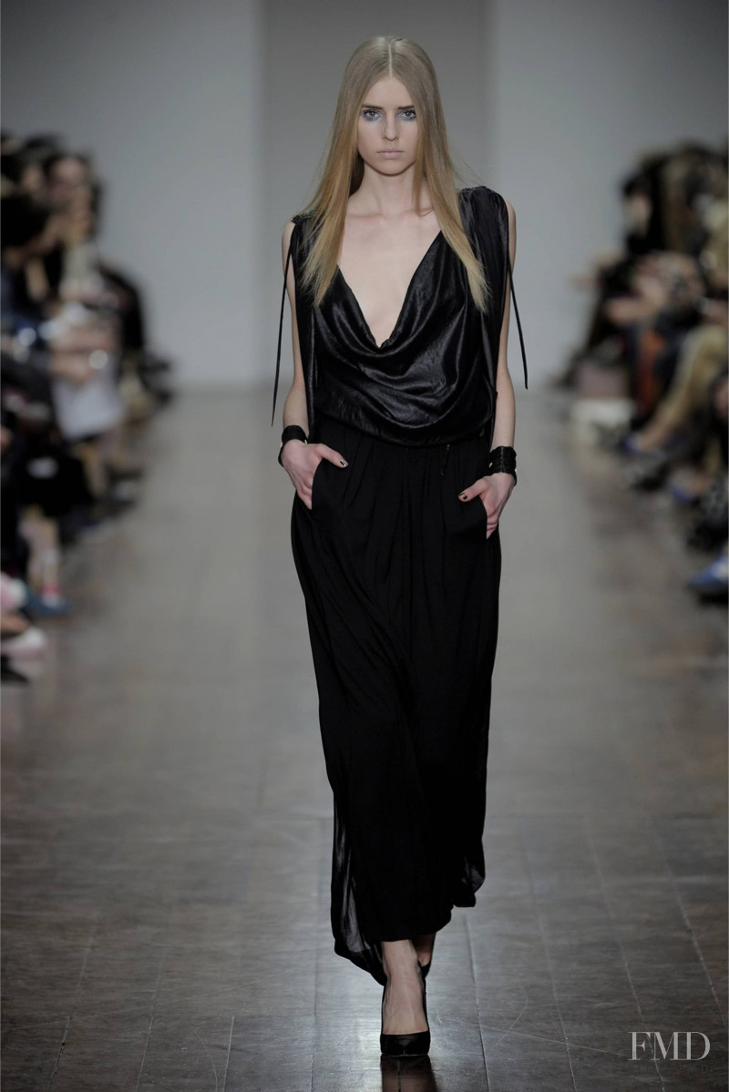 Corinna Studier featured in  the Christian Blanken fashion show for Autumn/Winter 2012