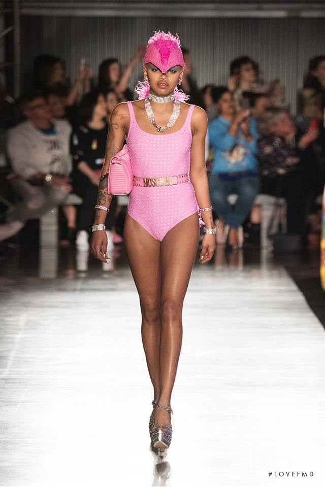 Moschino fashion show for Spring/Summer 2018
