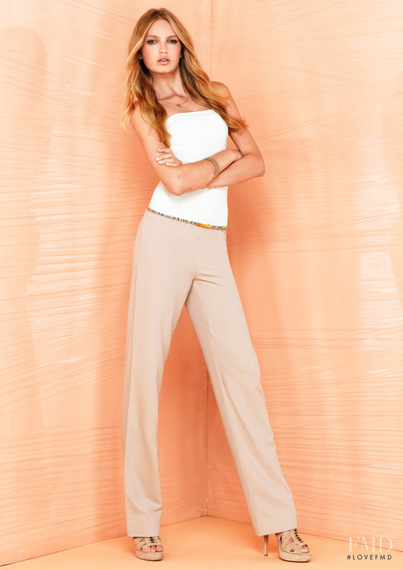 Romee Strijd featured in  the SuperTrash lookbook for Spring/Summer 2012