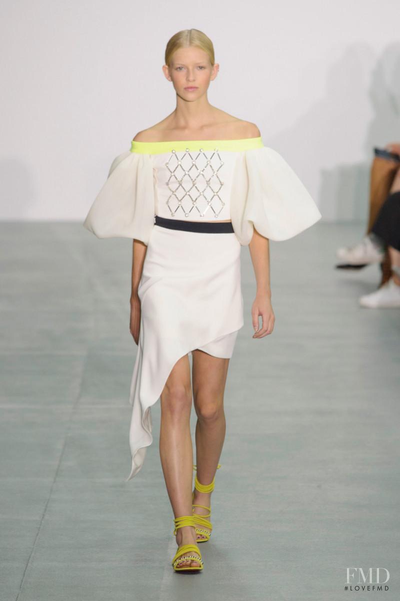 David Koma fashion show for Spring/Summer 2017