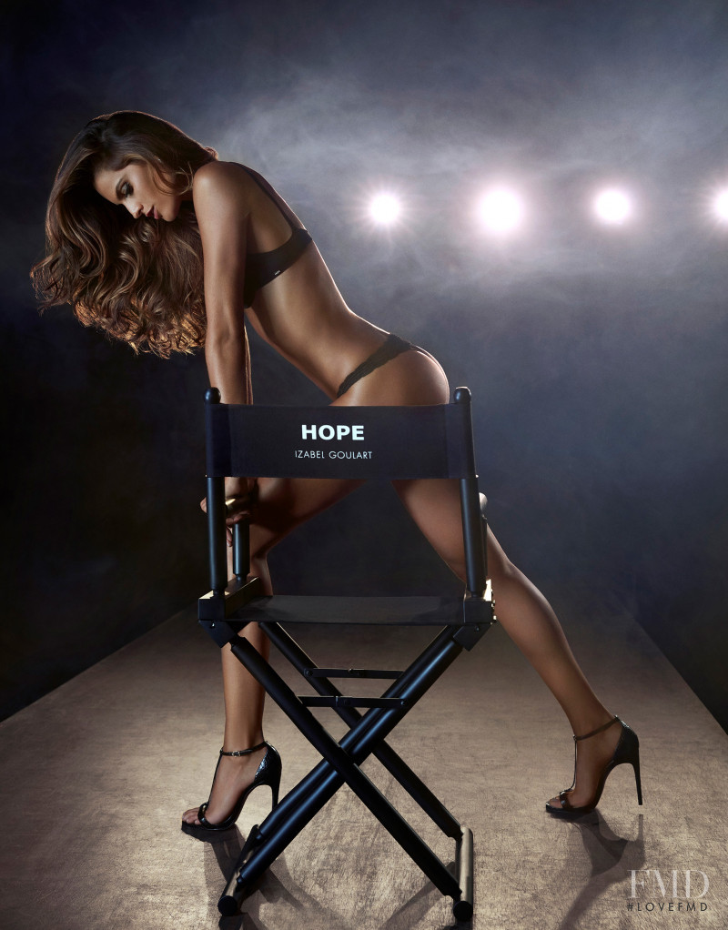 Izabel Goulart featured in  the Hope advertisement for Autumn/Winter 2016