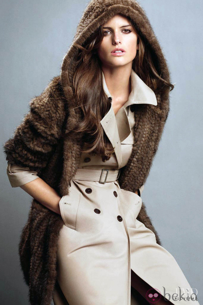 Izabel Goulart featured in  the Marella advertisement for Autumn/Winter 2011