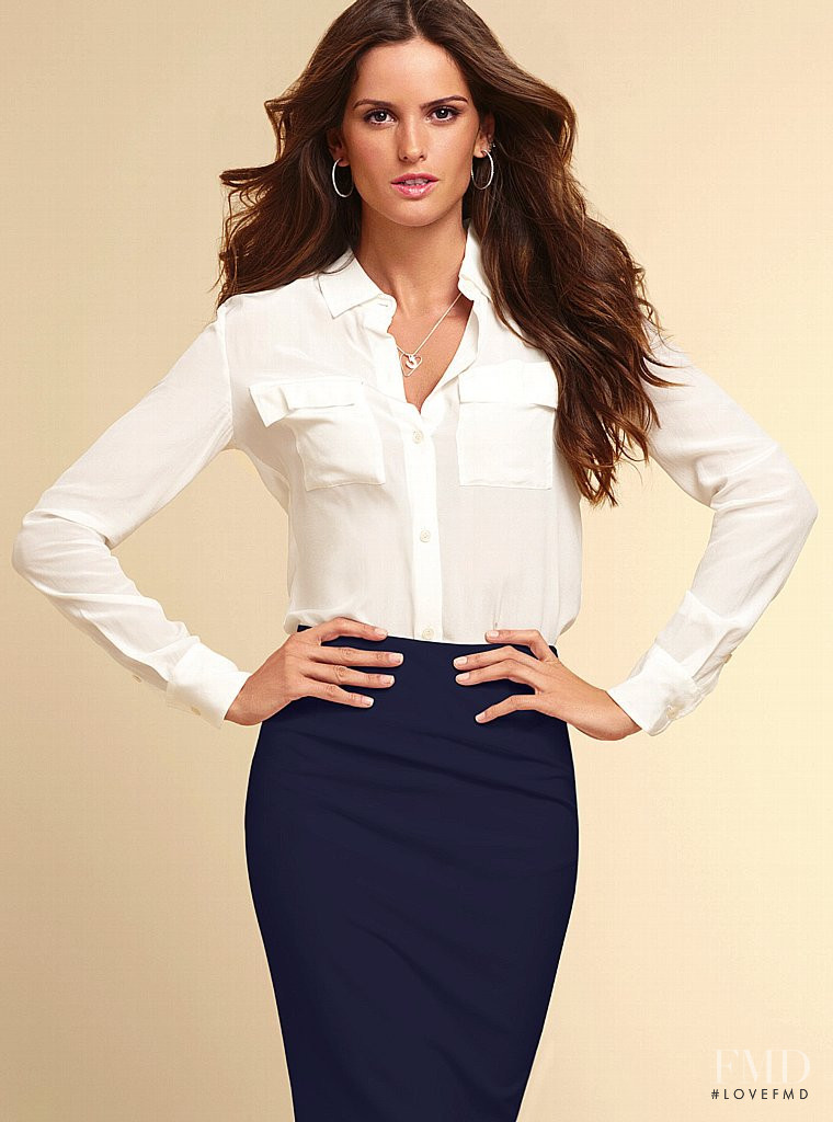 Izabel Goulart featured in  the Victoria\'s Secret Clothing catalogue for Spring/Summer 2013