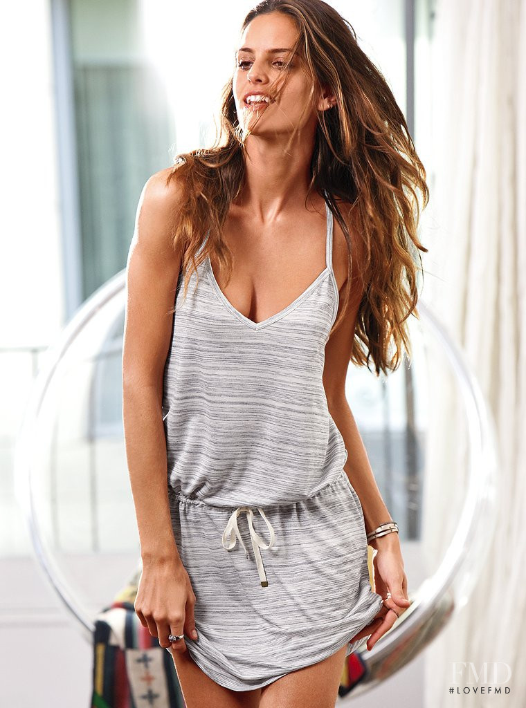 Izabel Goulart featured in  the Victoria\'s Secret Sleepwear catalogue for Spring/Summer 2012