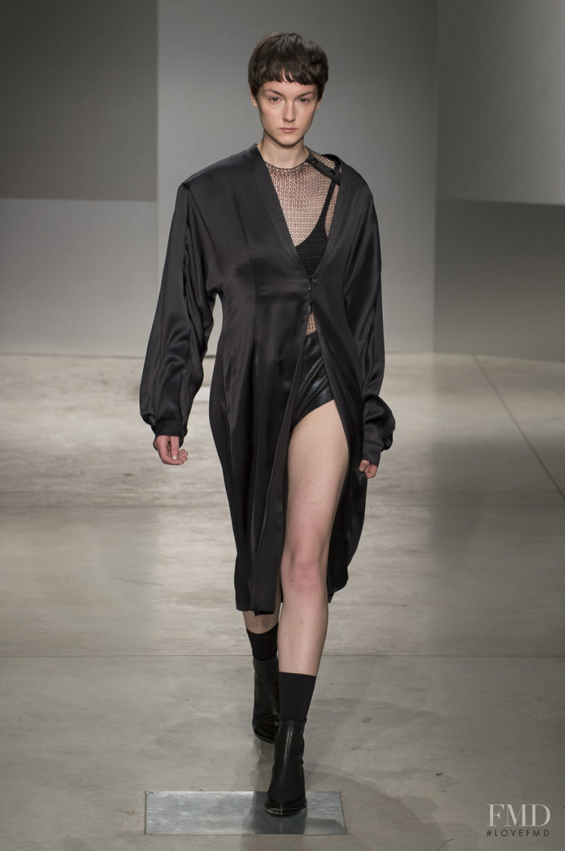Magali Buehrmann featured in  the Ricostru fashion show for Spring/Summer 2018