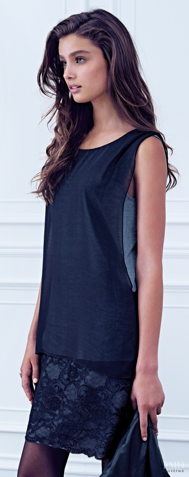 Taylor Hill featured in  the Intimissimi catalogue for Spring/Summer 2014