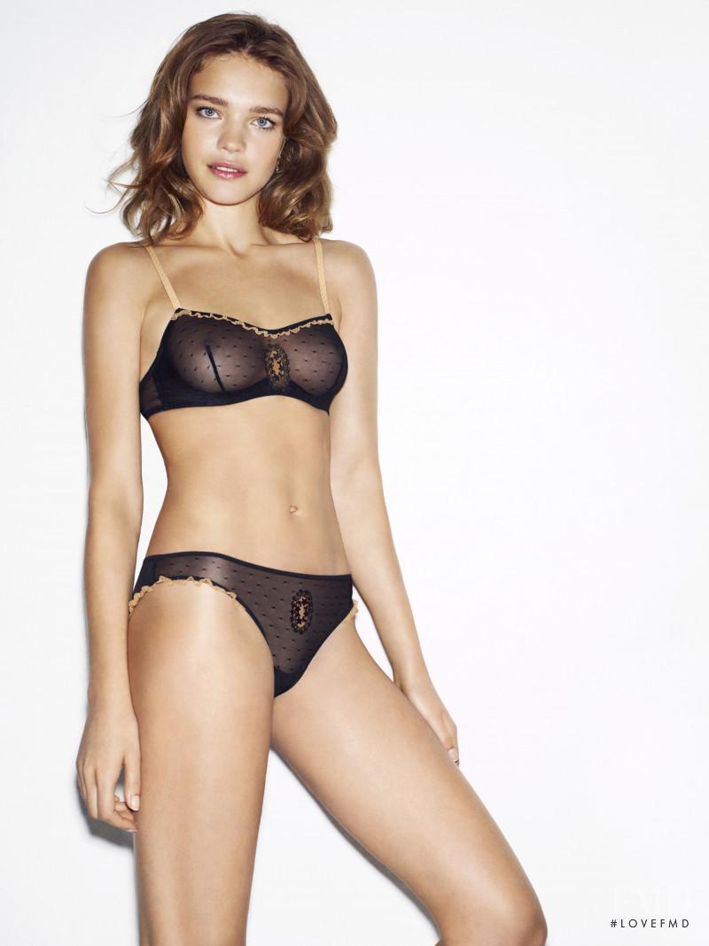 Natalia Vodianova featured in  the Etam Lingerie advertisement for Autumn/Winter 2012