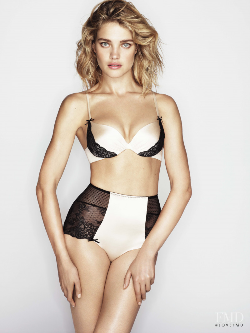 Natalia Vodianova featured in  the Etam Lingerie advertisement for Autumn/Winter 2012