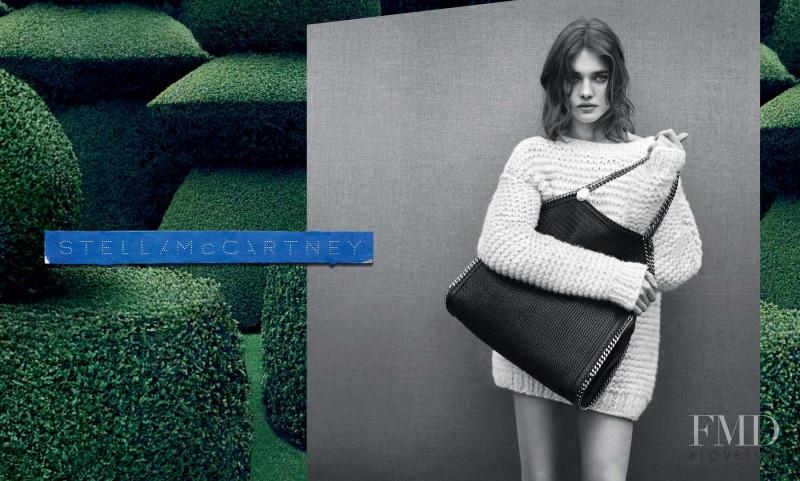 Natalia Vodianova featured in  the Stella McCartney advertisement for Autumn/Winter 2011