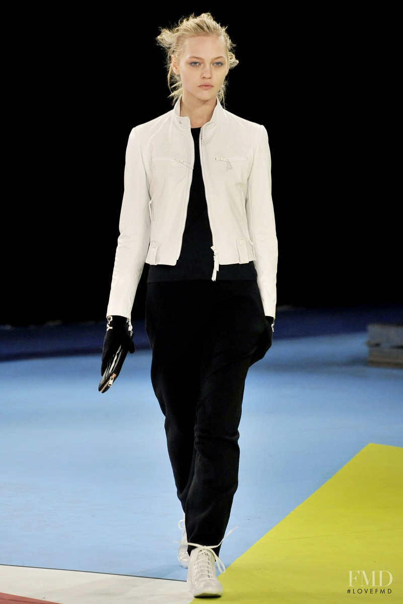 Sasha Pivovarova featured in  the Y-3 fashion show for Autumn/Winter 2009