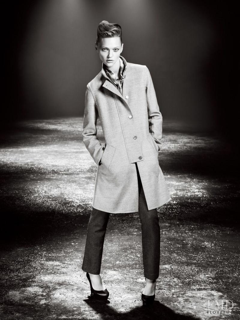 Sasha Pivovarova featured in  the Giada advertisement for Autumn/Winter 2009