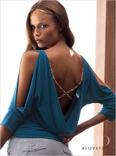 Natasha Poly featured in  the Victoria\'s Secret catalogue for Resort 2007