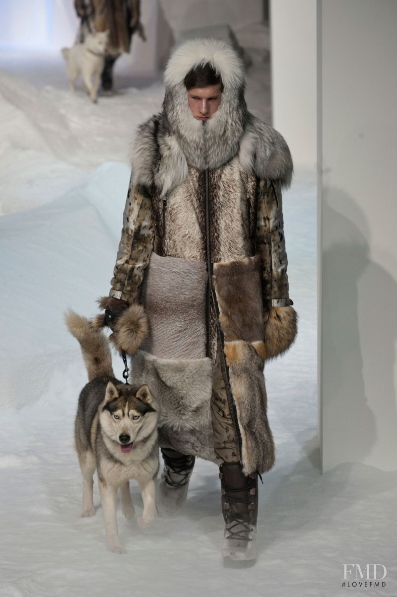 Moncler Gamme Rouge fashion show for Autumn/Winter 2013