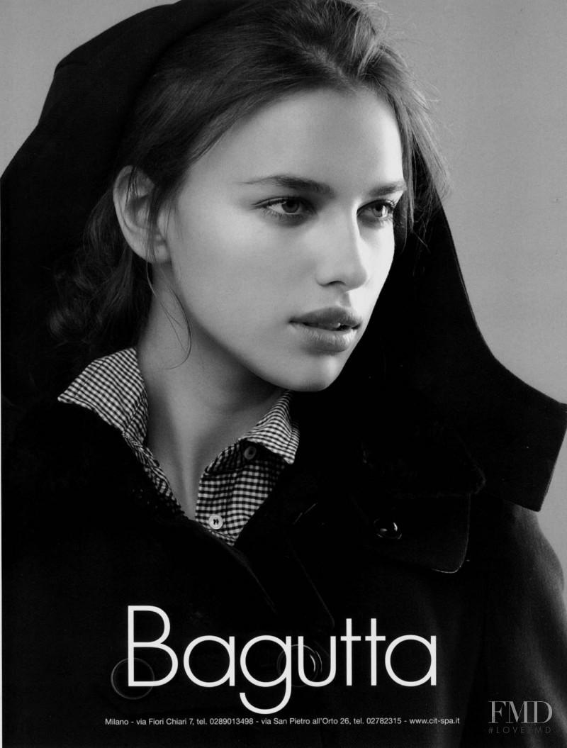 Irina Shayk featured in  the Bagutta advertisement for Spring/Summer 2008