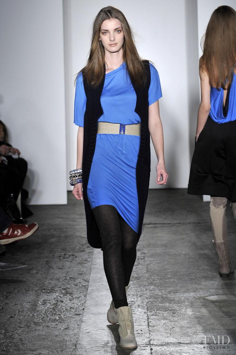 Denisa Dvorakova featured in  the VPL fashion show for Autumn/Winter 2009