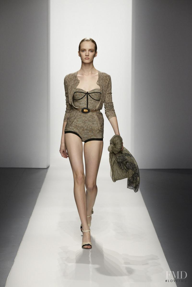 Daria Strokous featured in  the Bottega Veneta fashion show for Resort 2012