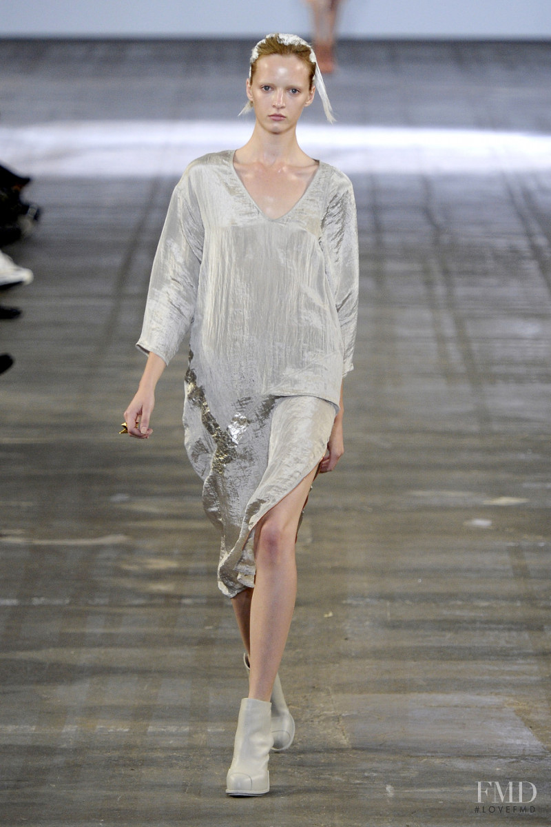 Daria Strokous featured in  the Alexander Wang fashion show for Spring/Summer 2011