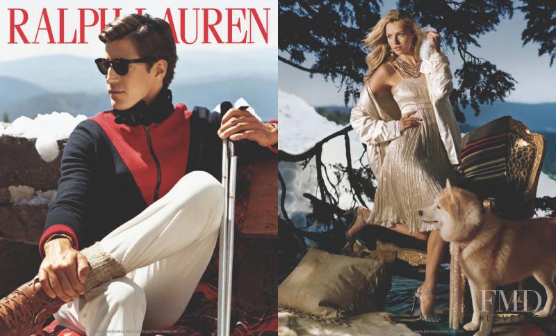 Oriol Elcacho featured in  the Ralph Lauren advertisement for Autumn/Winter 2009
