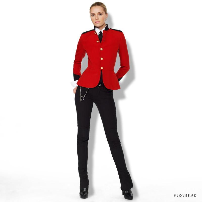 Valentina Zeliaeva featured in  the Ralph Lauren catalogue for Autumn/Winter 2009