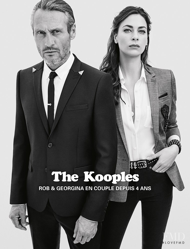 The Kooples advertisement for Spring/Summer 2016