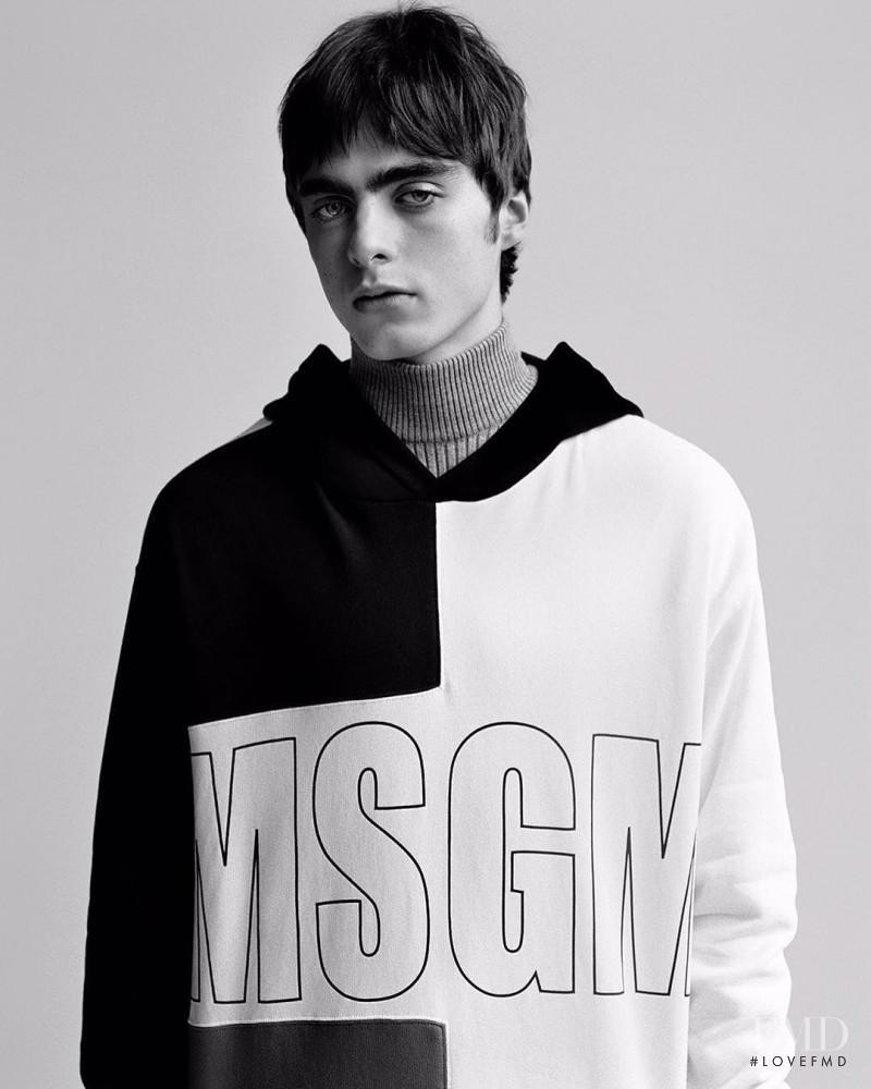 MSGM advertisement for Autumn/Winter 2017