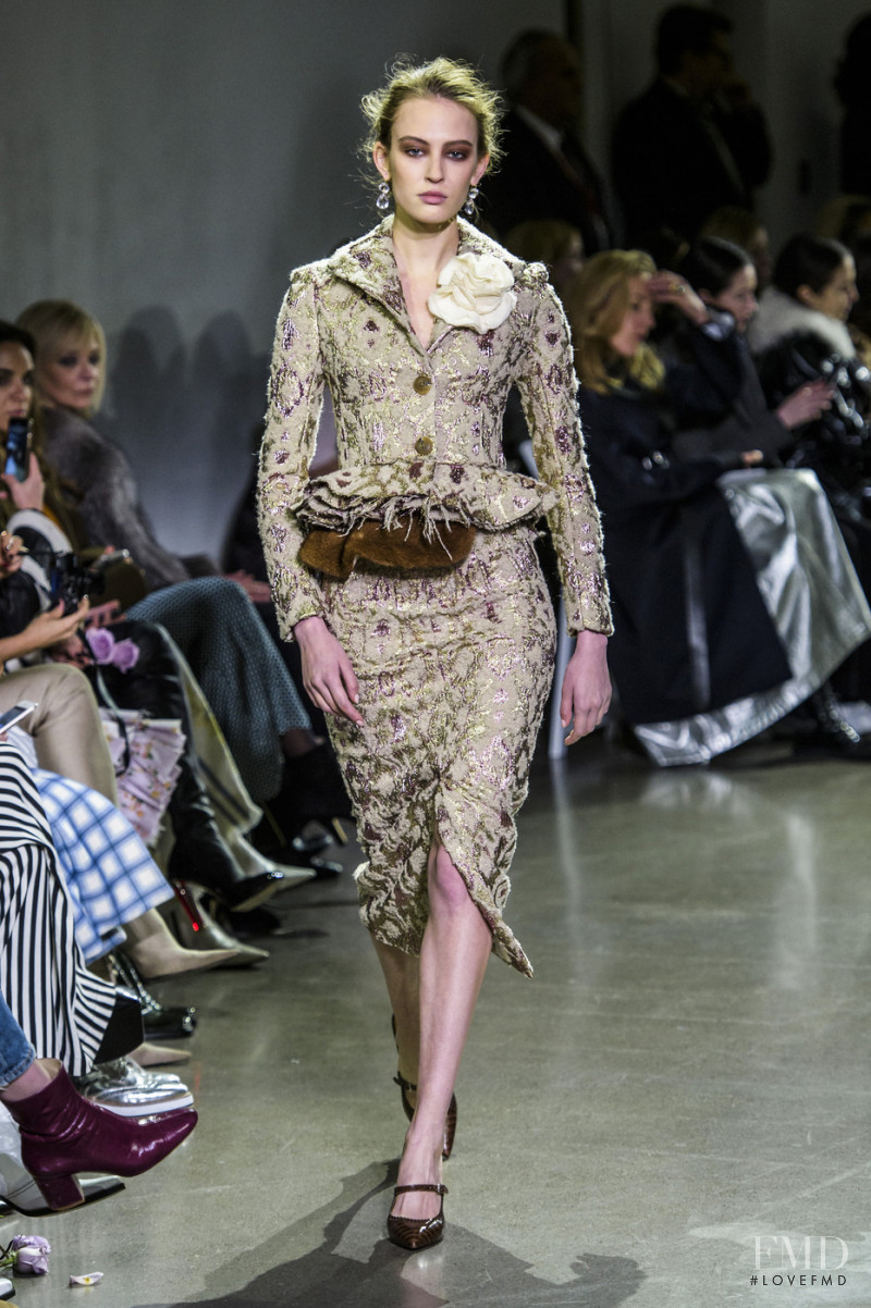 Brock Collection fashion show for Autumn/Winter 2018