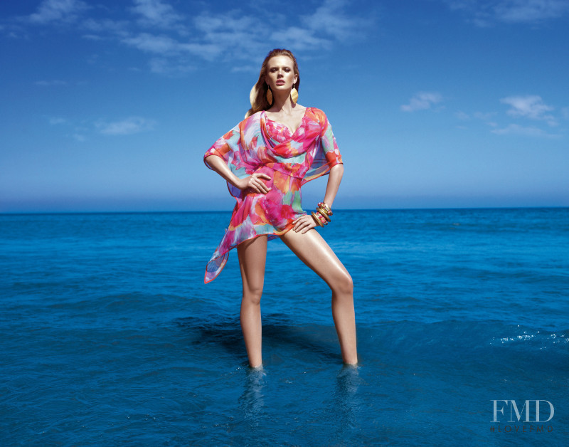 Anne Vyalitsyna featured in  the Gottex Swimwear advertisement for Autumn/Winter 2011