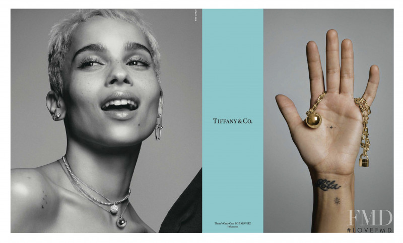 Tiffany & Co. advertisement for Spring/Summer 2018