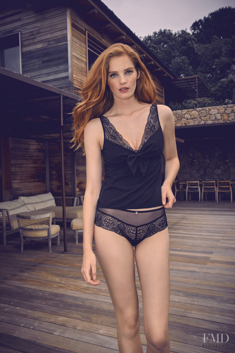 Alexina Graham featured in  the Barbara Paris advertisement for Spring/Summer 2017