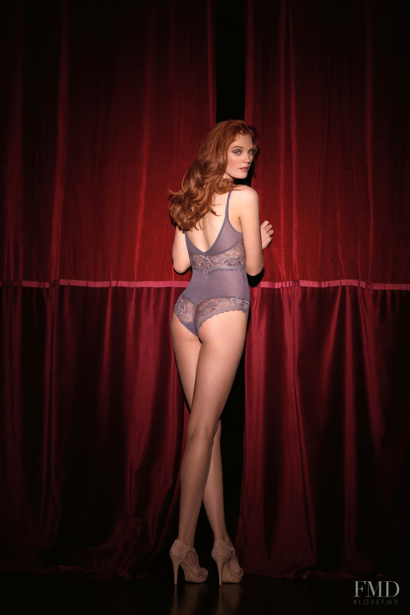 Alexina Graham featured in  the Barbara Paris advertisement for Spring/Summer 2016