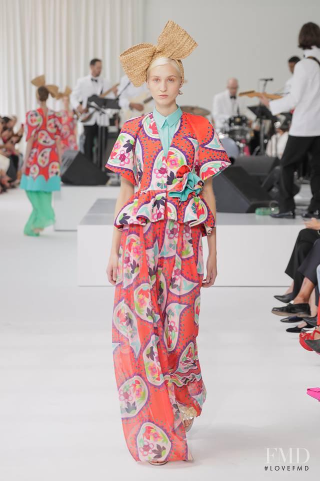 Delpozo fashion show for Spring/Summer 2018