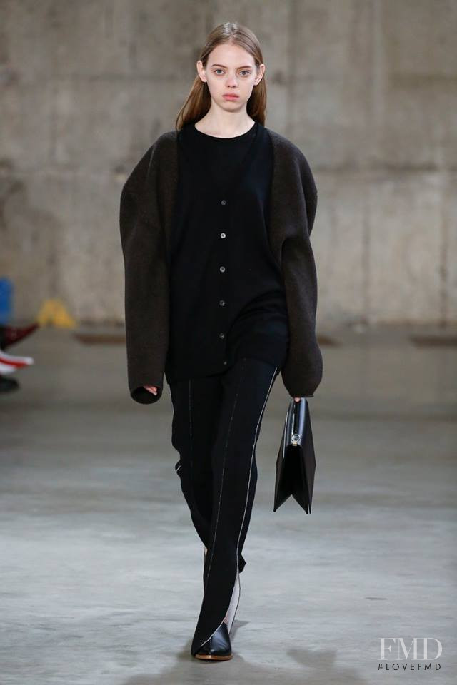 Mariana Zaragoza featured in  the Ports 1961 fashion show for Autumn/Winter 2018