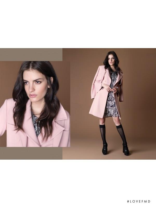 Rebecca Gobbi featured in  the Argentum advertisement for Autumn/Winter 2015