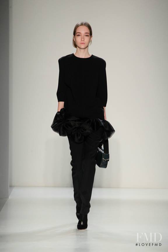 Victoria Beckham fashion show for Autumn/Winter 2014