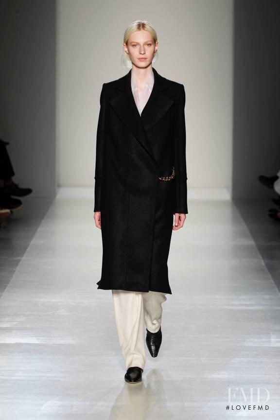 Julia Nobis featured in  the Victoria Beckham fashion show for Autumn/Winter 2014