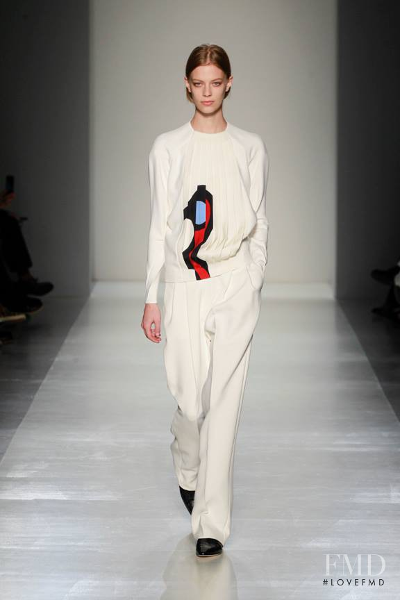 Lexi Boling featured in  the Victoria Beckham fashion show for Autumn/Winter 2014