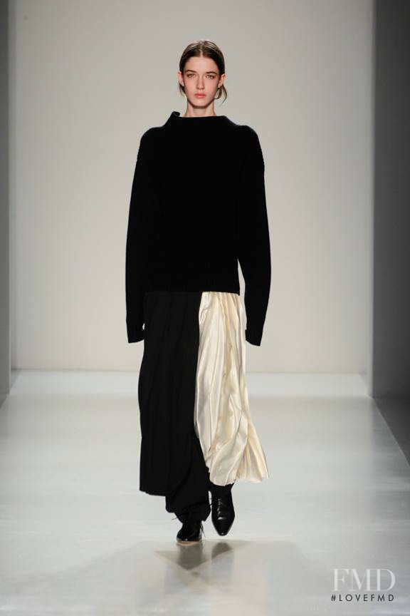 Josephine van Delden featured in  the Victoria Beckham fashion show for Autumn/Winter 2014
