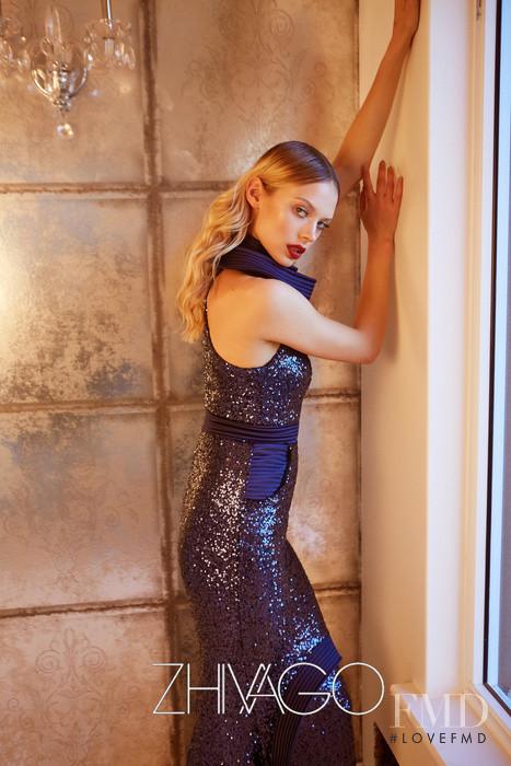 Victoria Germyn featured in  the Zhivago advertisement for Spring/Summer 2016