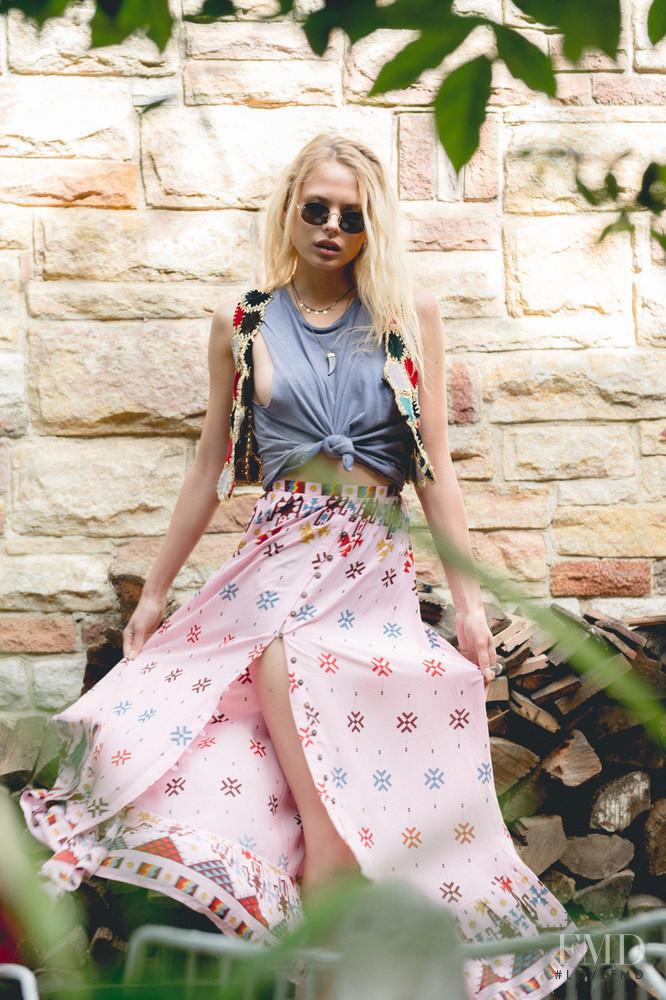 Victoria Germyn featured in  the Arnhem catalogue for Autumn/Winter 2016